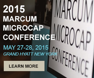 Marcum MicroCap Conference 2015